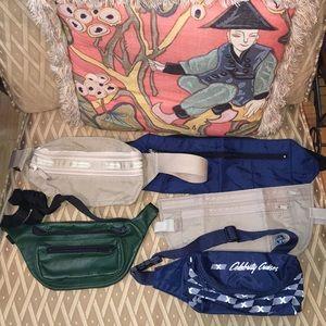 5 fanny packs 🙊🛬🛫